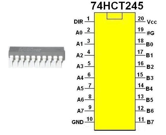 74hct245